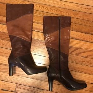 Naturalizer Leather Womens Boots Size 7.5M